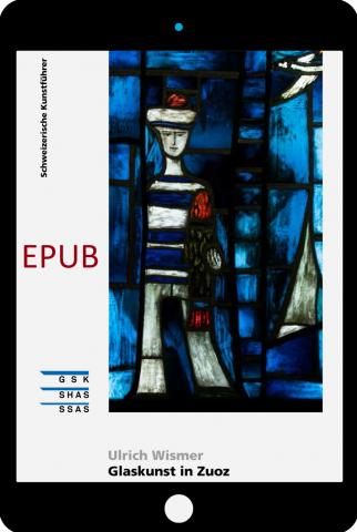 Cover «EPUB Glaskunst in Zuoz»
