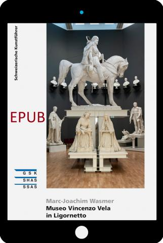 Cover «EPUB Museo Vincenzo Vela in Ligornetto»