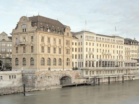 The Grand Hotel Les Trois Rois in Basel