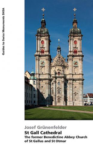 St Gall Cathedral. The former Benedictine Abbey Church of St Gallus and St Otmar